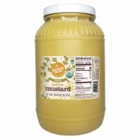 128-oz. Natural Value Food Service Organic YELLOW Mustard / 4-ct. case - 4 ct.
