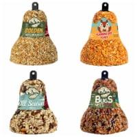 Home & Garden All Season Bugs Golden Flaming Bird Seed Bells No Squirrles 621*412*212*618Gs - 1