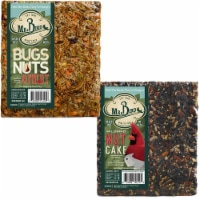 Home & Garden Nut Cake And Buts Nuts Seed Bird Feed Cakes No Mess 440*140 - 1