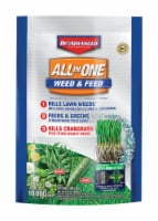BioAdvanced Weed & Feed 22-0-4 Lawn Fertilizer 10000 sq. ft. For Multiple Grasses - Case Of: - Count of: 1