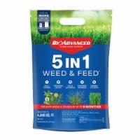Bioadvanced 5 in 1 Weed & Feed Lawn Treatment