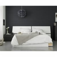 Context 3 Piece Queen Size Bedroom Set Black & White - 1