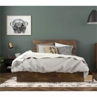 Oscuro 3 Piece Full Size Bedroom Set Truffle & Black - 1