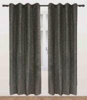 "Columbia Pan Blackout Grommet Curtain Panel Black 54""x95"" - 1"