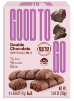 Good To Go Double Chocolate Soft Baked Keto Snack Bars