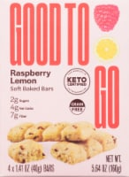 Good To Go Raspberry Lemon Soft Baked Keto Snack Bars