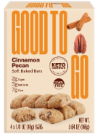 Good to Go Cinnamon Pecan Soft Baked Keto Snack Bars