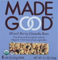 MadeGood Organic Mixed Berry Granola Bars