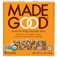 MadeGood Sweet & Salty Granola Bars