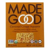 Made Good - Crispy Sqrs Caramel - Case of 6 - 4.68 OZ
