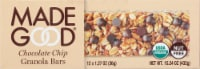 MadeGood Chocolate Chip Granola Bars - 12 ct / 1.27 oz