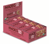 MadeGood Chocolate Raspberry Granola Bars - 12 ct / 1.27 oz