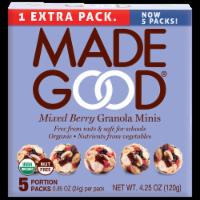 MadeGood Mixed Berry Granola Minis - 5 ct / 0.85 oz