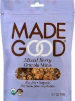 MadeGood Mixed Berry Granola Minis
