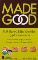MadeGood Apple Cinnamon Cookies 5 Count