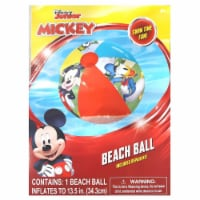 Disney Mickey Mouse Inflatable Beach Ball Donald Goofy Pool Water Fun Toy What Kids Want - 1 unit