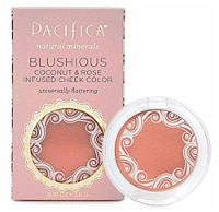 Pacifica Blushious Coconut & Rose Infused Cheek Color Wildrose