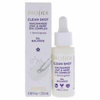 Pacifica Clean Shot Niacinamide Zinc and Hemp 10 Percent Complex Serum 0.8 oz - 0.8 oz