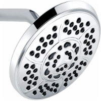 Wassern Shower Head, High Pressure Flow Wall Mount Massage Rainfall Powerful Rain Spray 7 inc - 1 Pack