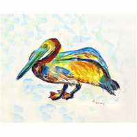Betsy Drake PM984A Gertrude Pelican A Place Mat - Set of 4