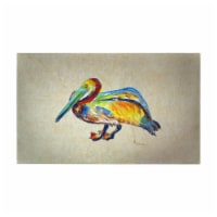 Betsy Drake DM984BG 30 x 50 in. Gertrude Pelican B Door Mat