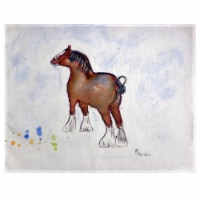 Betsy Drake PM936 Clydesdale Place Mat - Set of 4