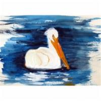 Betsy Drake DM382G Spring Creek Pelican Door Mat, Large - 1