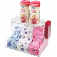 Cal Mil 786 3 Section Three Section Coffee Condiment Center - Orange