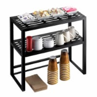 Cal Mil 1254 Iron Collection Hutch for 1410 Mobile Server - 24 x 12 x 24 in.