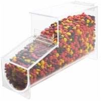 Cal Mil 1739 Classic Acrylic Topping Dispenser - 4.125 x 12 x 7 in.