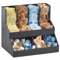 Cal Mil 3690-13 Classic 2 Level Condiment Display - 13 x 9.25 x 11.25 in. - 1