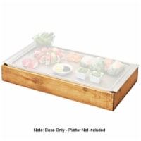 Cal Mil 3699-1123-99 Madera Cold Concept Reclaimed Wood Frame with Cold Pack & Liner - 23 x 1 - 1
