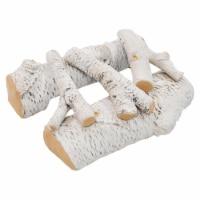 Regal Flame RFA4005 16 in. Birch Ceramic Fireplace Gas Logs - 5 Piece
