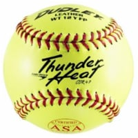 Spalding Sports Div Russell 247392 12 in. Poly Core Thunder Heat Softball, Dual Stamp ASA & N