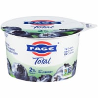 Fage Total 2% Milkfat Blueberry Greek Yogurt