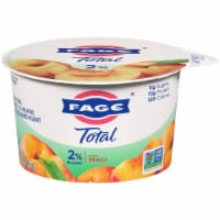 Fage Total 2% Peach Greek Strained Yogurt