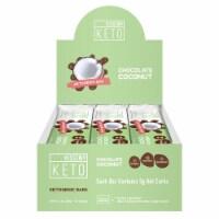 Kiss My Keto Chocolate Coconut Flavor Ketogenic Bars
