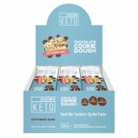 Kiss My Keto Chocolate Cookie Dough Ketogenic Bars