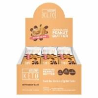 Kiss My Keto Chocolate Peanut Butter Ketogenic Bars