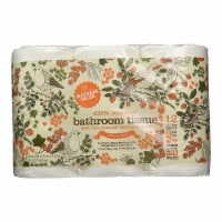 Natural Value 100% Recycled DOUBLE ROLL Toilet Paper / 12-pk. / 24-roll mini case - 24 ct.