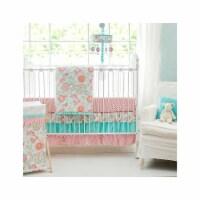 My Baby Sam CRIB3181 3 Piece Gypsy Baby Crib Bedding Set - 3
