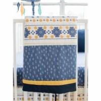 My Baby Sam CRIB3186 Crib Bedding 3 Piece - Desert Sky
