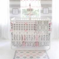 My Baby Sam CRSH170 Olivia Rose Crib Sheet - 1