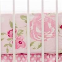 My Baby Sam CRSH178 Rosebud Lane Crib Sheet - 1