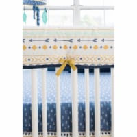 My Baby Sam RC186 Sky Crib Rail Cover - Desert - 1