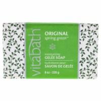 Vitabath Original Spring Green Moisturizing Gelee Bar Soap 8 oz - 8 oz