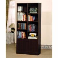 Ergode Bookcase w/2 Doors Espresso - 1