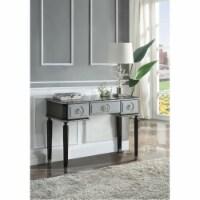 Ergode Vanity Desk Charcoal & Light Gray Finish - 1