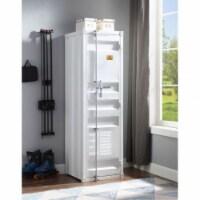 Ergode Wardrobe (Single Door) White - 1