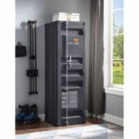 Ergode Wardrobe (Single Door) Gunmetal - 1